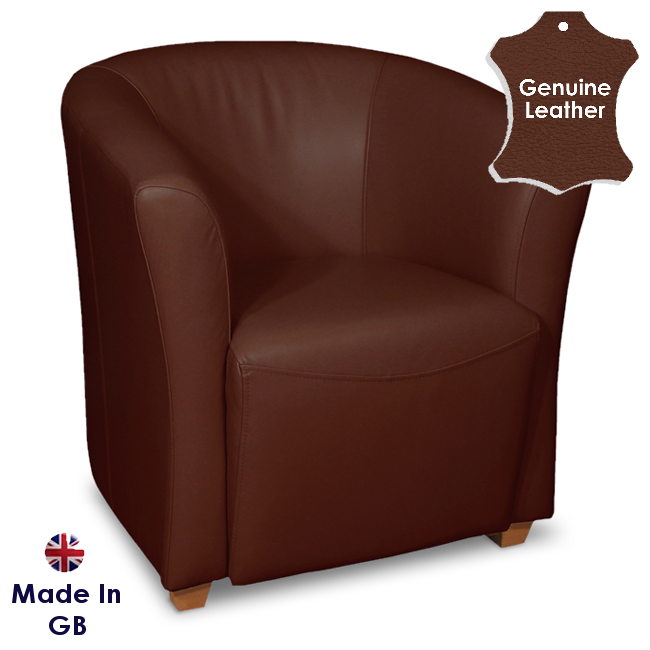 Hampshire_tub_chair_brandy_two_tone_lena_leather_light_gb_sample