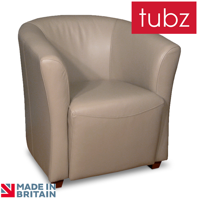 Tub Chairs Hampshire Tub Chair In Lena Heather Genuine Leather