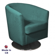 st_tropez_pimlico_teal_sr16164_velvet_fabric_swivel_gb