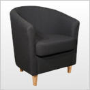 Black Tub Chairs