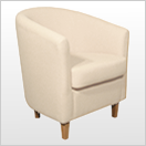 Cream Tub Chairs