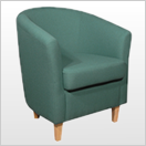 Green Tub Chairs