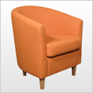 Orange Tub Chairs